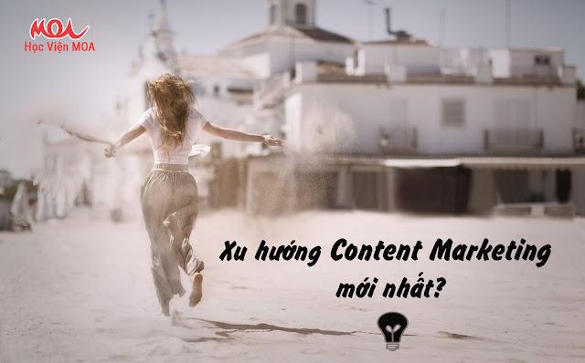 xu hướng content marketing mới nhất 2018 hiện nay