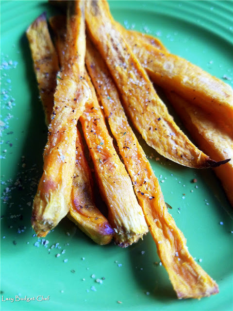 best baked sweet potato french fry recipe