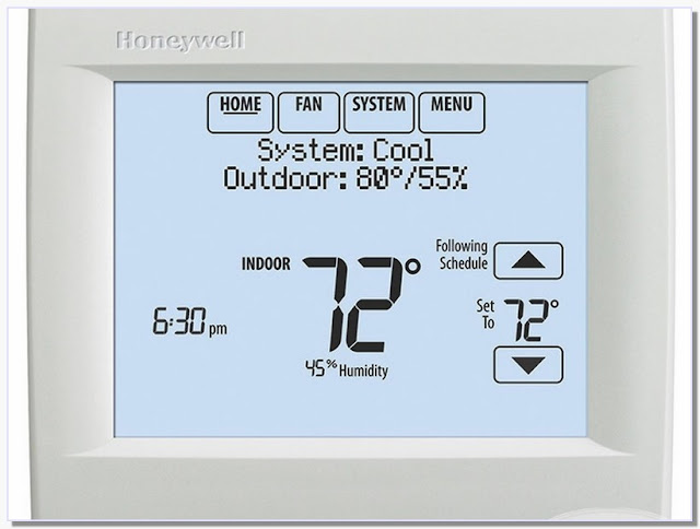Honeywell Wireless Thermostat With Humidity Control