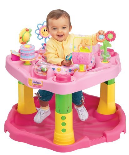 Singapore Toy Rental: Evenflo ExerSaucer 1-2-3 Tea for Me