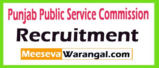 PPSC Recruitment 2018 (Punjab Public Service Commission)