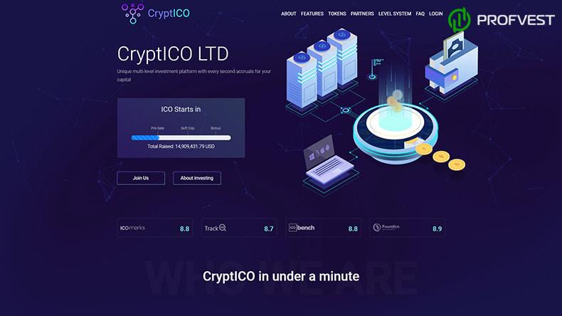 CryptICO LTD обзор и отзывы HYIP-проекта