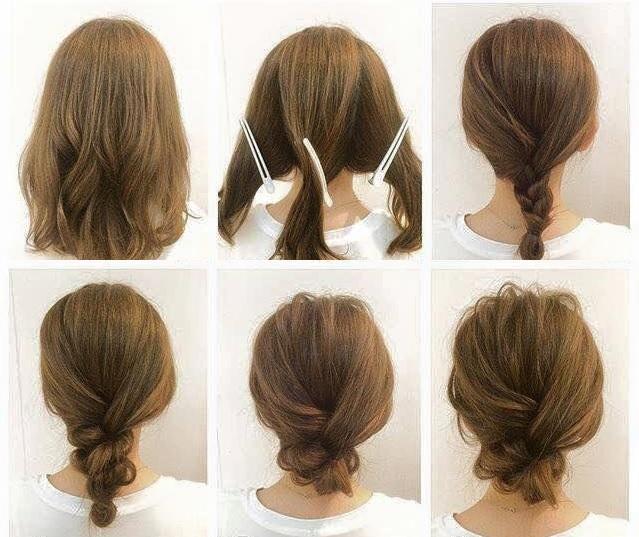 Einfache Frisuren Für Schulterlange Haare Frisuren Trend 123