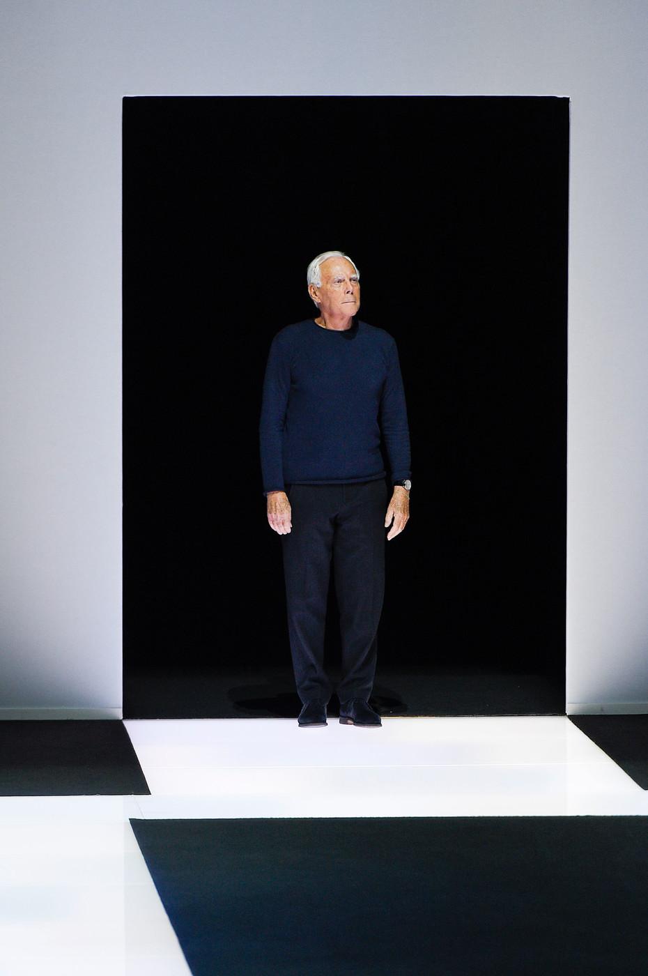 Giorgio Armani visits Moscow / fashion news via www.fashionedbylove.co.uk