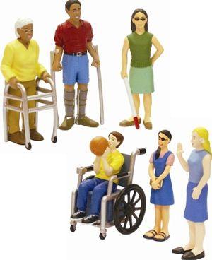 Resultado de imagen para siluetas de personas con discapacidad blog