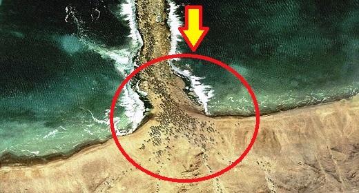 Inilah Bukti-Bukti Foto Bahwa Nabi Musa Pernah Membelah Laut Merah