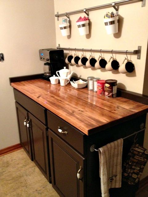 Coffee Bar Kitchen: It's Our Pinteresting Life : {DIY} Coffee Bar