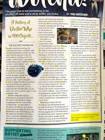 Nicholas Pegg Doctor Who Magazine DWM Panini and BBC Worldwide