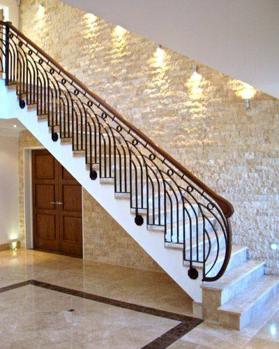 75 Most Popular Staircase Design Ideas For 2019: 40 Modern Stair Railing Ideas