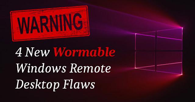 Phát hiện thêm 4 lỗ hổng bảo mật nghiêm trọng trong Windows Remote Desktop tương tự lỗ hổng BlueKeep 'Wormable' - CyberSec365.org