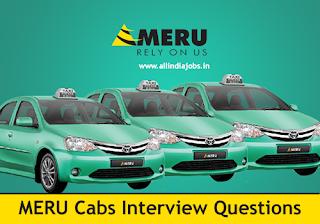 Meru Cabs Interview Questions