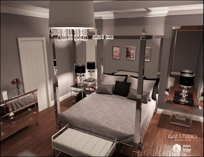 Pure Luxury Bedroom Scene