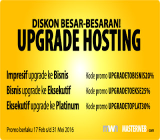 Promo Hosting Upgrade