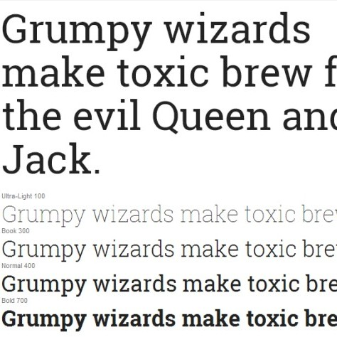 25 Outstanding Google Fonts for Web Design