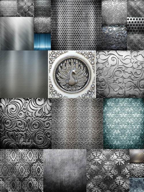 تحميل 24 صورة خلفيات تصاميم معدنية جودة عالية