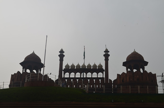 ramparts of Red Fort, Delhi