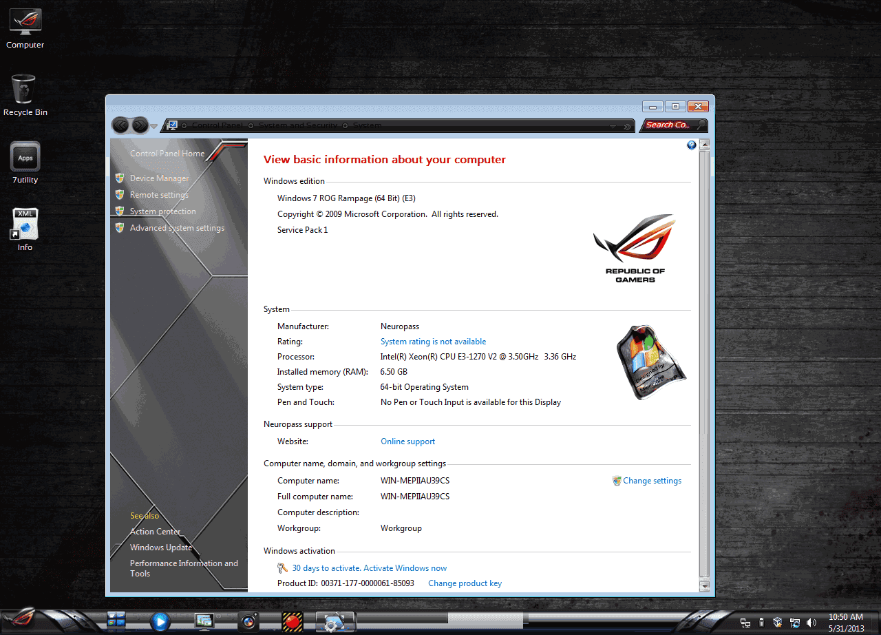 Windows 7 Rog Rampage X64 Incl Activator Full Mediafire