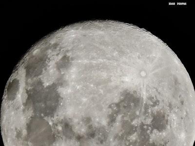 Belissima lua em rio grande