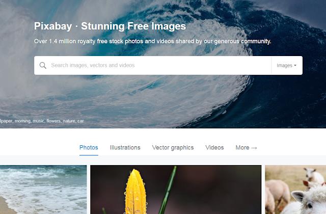 طريقة الحصول على صور مجانيه بدون حقوق ملكية لاعادة الاستخدام الشخصى والتجارى