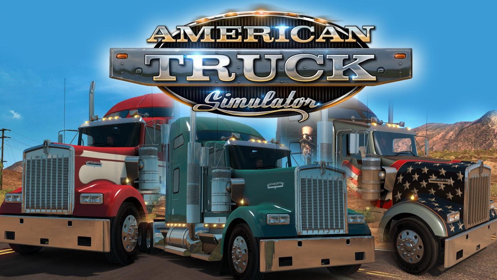 american truck simulator 2 free download