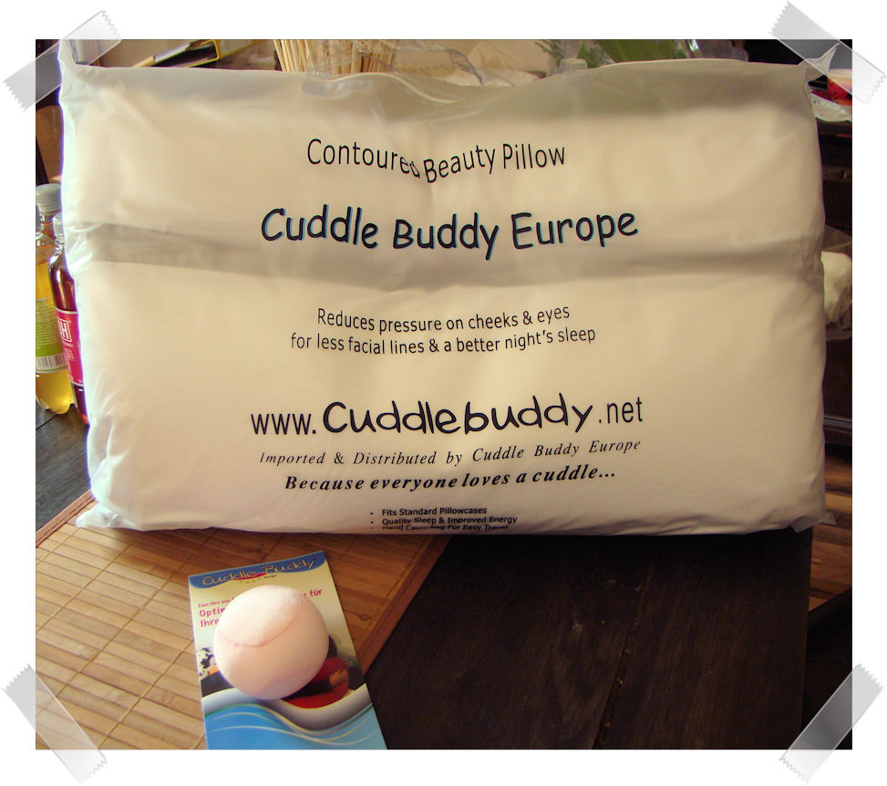 Cinny@Home: Produkttest: Cuddle Buddy