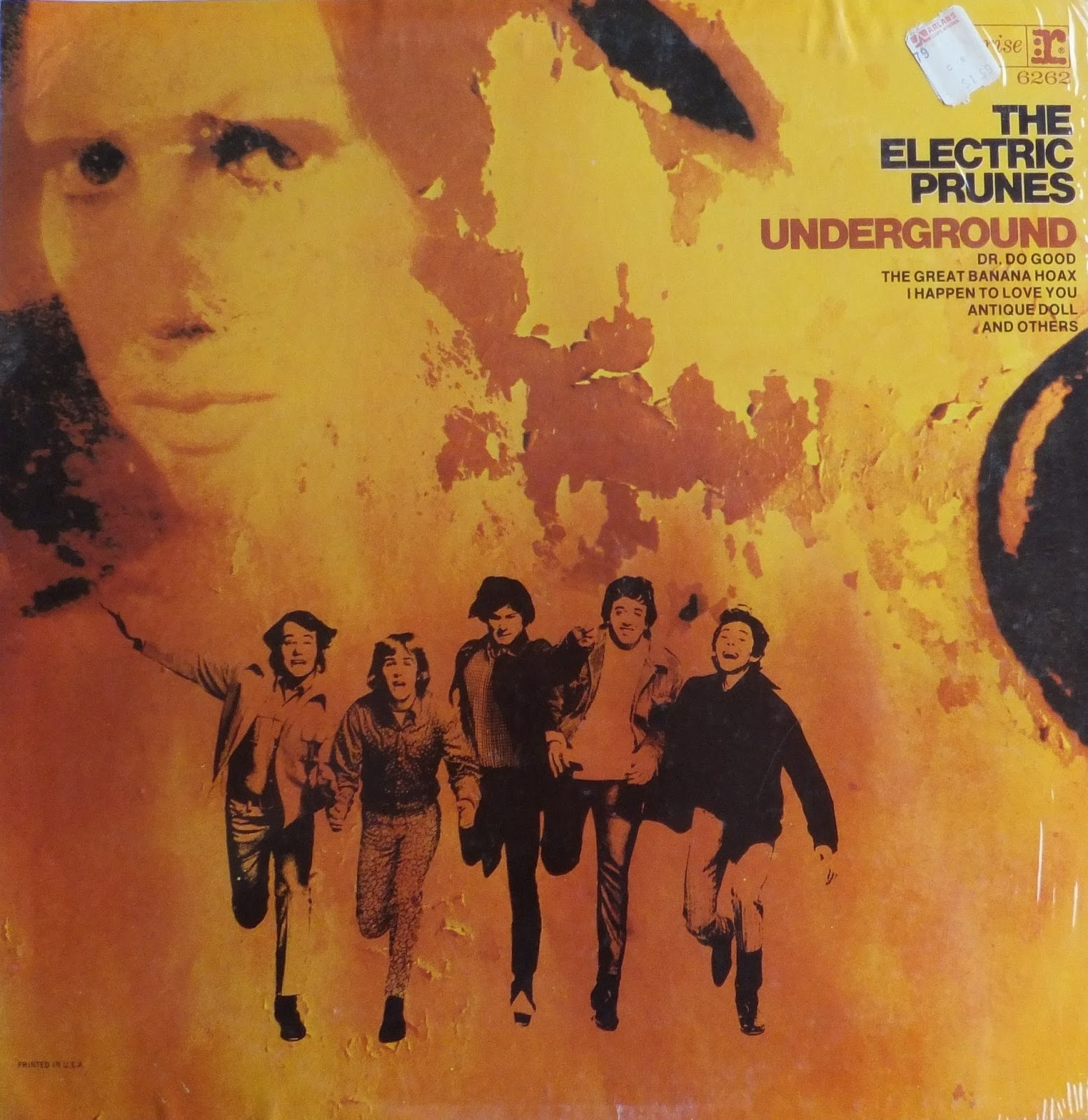 Prof Stoned Rare Amp Deleted Vinyl The Electric Prunes