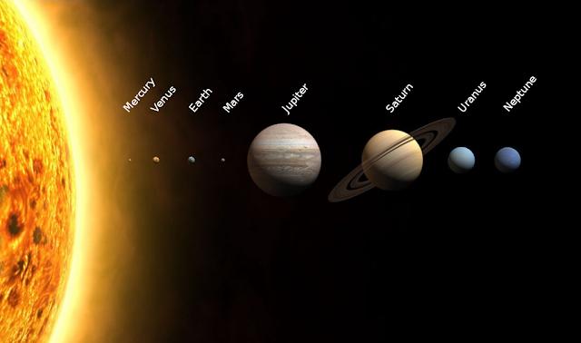 formasi tata surya yang cantik