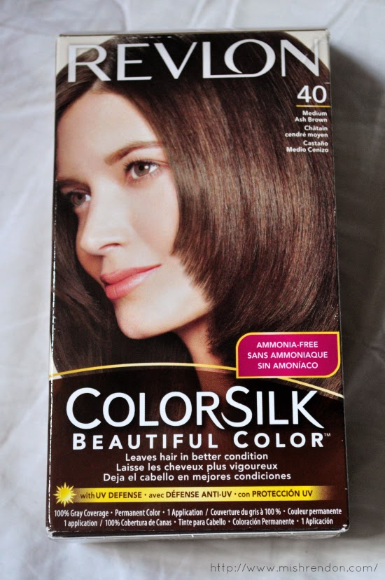 Revlon Colorsilk Medium Ash Brown (40) Review