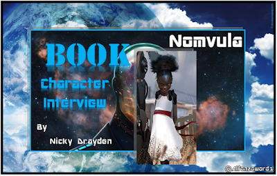 Book Character Interview with Nomvula #ThePreyofGods