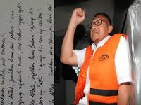 Heboh! Anas Urbaningrum Tulis Surat dari Balik Jeruji, Sindir Siapa?
