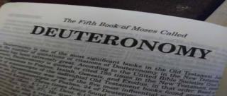 Intro to the book of Deuteronomy