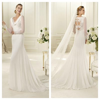 Vestido novia pronovias boda Cádiz Wedding planner