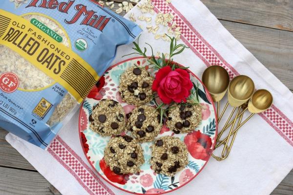 Healthy 3 Ingredient Cookies