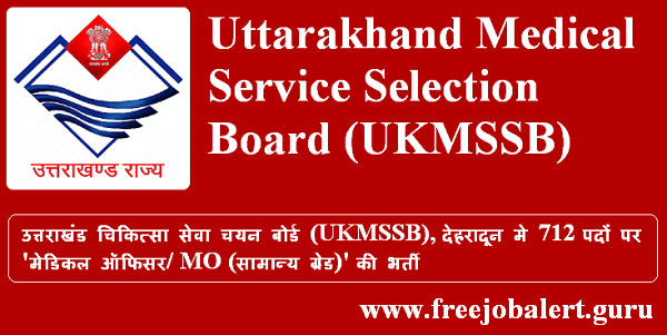freejobalert, Graduation, Latest Jobs, Medical Officer, MO, Sarkari Naukri, UK, UKMSSB, UKMSSB Recruitment, Uttarakhand, Uttarakhand Medical Service Selection Board,