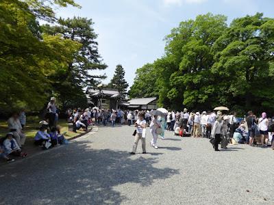 京都御苑・葵祭 堺町御門付近