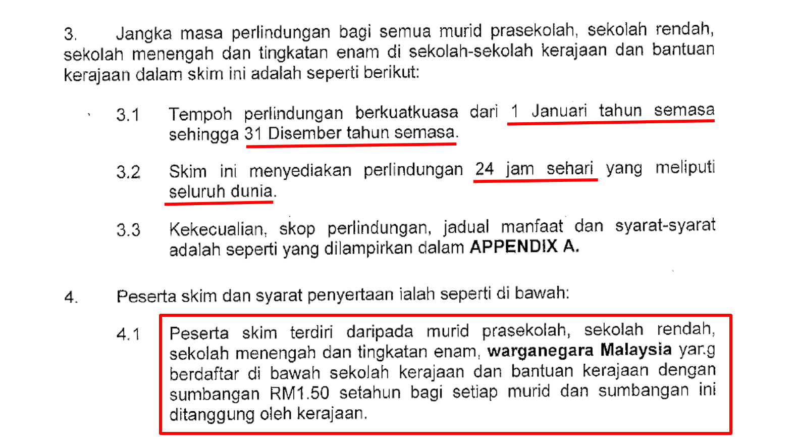 Skim Takaful Pelajar Sekolah Malaysia Tpsm