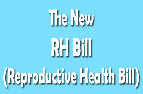 New Version of Reproductive Health Bill in Full-Text Content