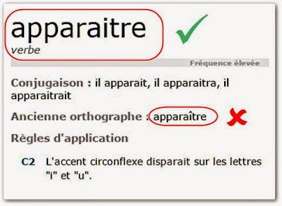 la nouvelle orthographe du français