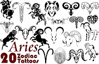 Aries Tattoo Designs, Meaning of Aries Tattoo Designs