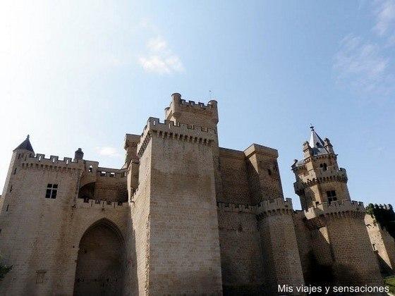 Castillo de Olite, navarra