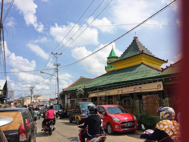 masjid al-mahmudiyah ilir palembang