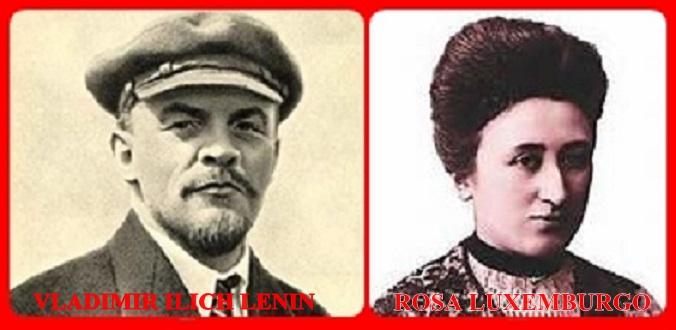 Resultado de imagen para lenin stalin rosa luxemburgo