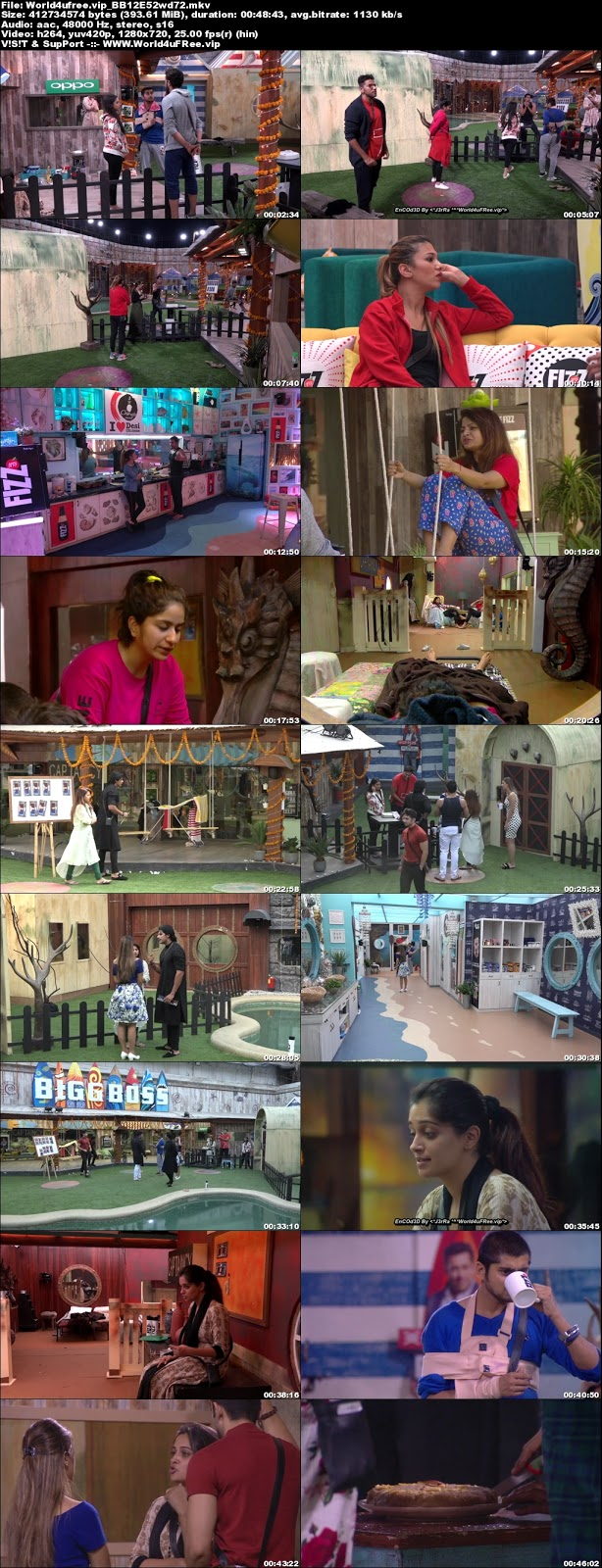 Bigg Boss 12 Episode 52 07 November 2018 720p WEBRip 400Mb x264 world4ufree.fun tv show Episode 50 05 november 2018 world4ufree.fun 300mb 250mb 300mb compressed small size free download or watch online at world4ufree.fun
