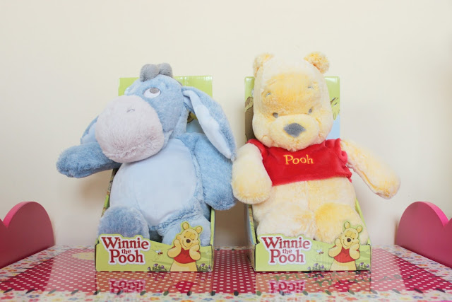 A review of Posh Paws Snuggletime Winnie-the-Pooh Plush Toys