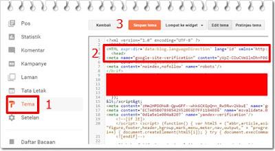 cara daftar blog ke webmaster google