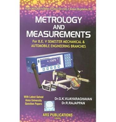 Engineering Measurement & metrology by R Rajappan