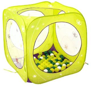 Cub'à Balles une aire de jeu pour les enfants.