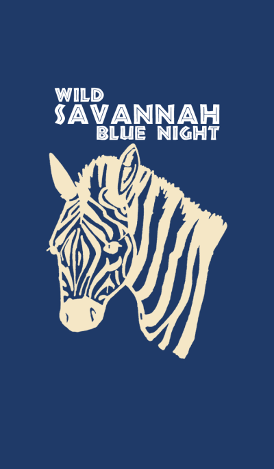 WILD SAVANNAH BLUE NIGHT