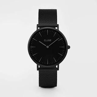 moda, minimalizm, zegarki, cluse, czarne