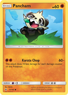 Pancham Guardians Rising Pokemon Card